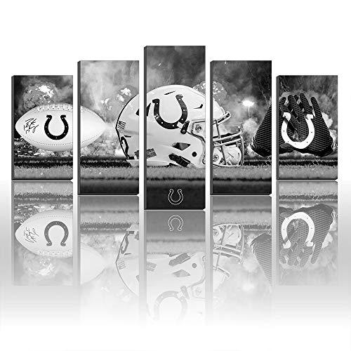 Super Bowl Indianapolis Colts NFL Football Gemälde Leinwanddrucke Bild Wall Art Art Art Size5 Frame (Football Bilder Nfl)