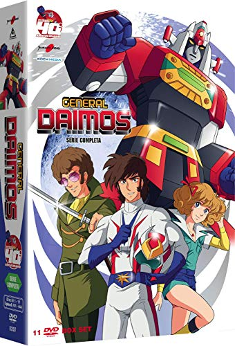 General Daimos Serie Completa (Box 11 Dvd)
