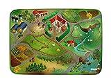Spielteppich Ultrasoft - Rutschfest 100 x 150 cm (Bauernhof)