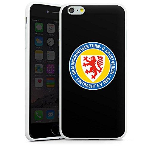 Apple iPhone X Silikon Hülle Case Schutzhülle Eintracht Braunschweig Fanartikel Fussball Silikon Case weiß
