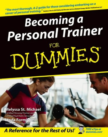 51WHD047AEL - Becoming a Personal Trainer for Dummies Reviews Professional Medical Supplies