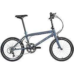 Dahon Bicicleta Dobrável Clinn D20 20 Engrenagem Cinza Azul 20 Polegada Dobrável Quadro Dobrável Cadeia de Deslocamento Das Senhoras Dos Homens, 942249