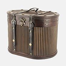 Fine Gifts UK Ltd - Cappelliera in legno in stile vintage, riproduzione a tema vittoriano, (Cappelli Vittoriani Per Le Donne)