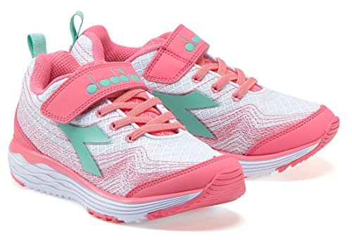 Diadora Sneakers Junior – Flamingo Jr – 178828-c3113 – Blanc/rose lady-38