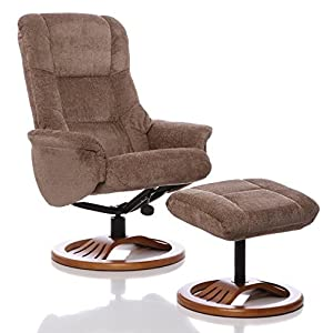 Oriental Leather Co Ltd (Großbritannien) Chenille Textil Relaxsessel, Liegesessel