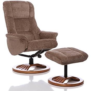 GFA Hong Kong Chenille Fabric Swivel Recliner Chair