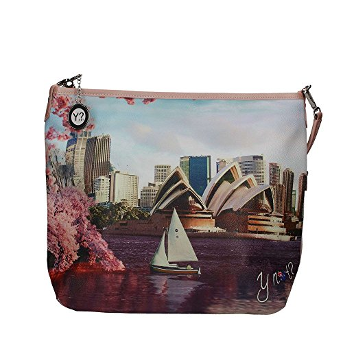 BORSA DONNA Y NOT? HOBO BAG CON TRACOLLA SIDNEY DATE INSTANT J-349