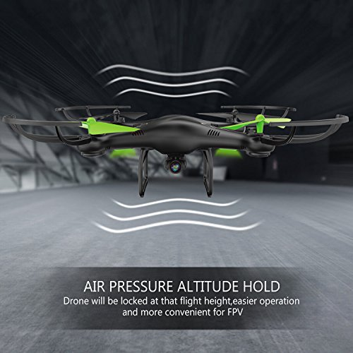Drone-con-Telecamera-Potensic-U42HW-Updated-WiFi-FPV-24Ghz-Hover-Quadcopter-Droni-Quadricottero-Videocamera-720P-HD-Camera-Headless-Mode-3D-Flips