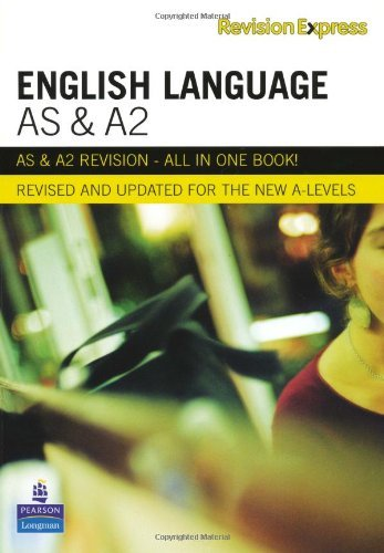 Revision Express AS and A2 English Language (Direct to learner Secondary) by Mr Alan Gardiner (2008-09-18)