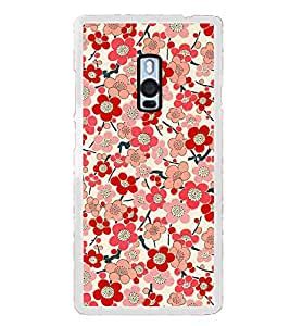 Fuson Bloomy Flowers Designer Back Case Cover for OnePlus 2 :: OnePlus Two :: One Plus 2 (Colorful Floral Wallpaper)