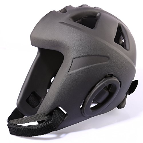 Kopfschutz, Foxom Kopfschutz für Boxen MMA Kickboxen Taekwondo Karate Judo Kampfsport Sparring Helm Abbildung 3