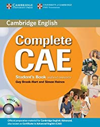 Complete CAE Student's Book without answers with CD-ROM