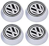 4 Chic Volkswagen Enamel License plate bolts