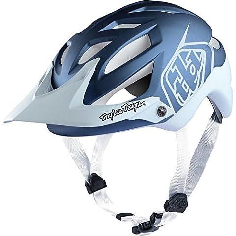 Troy Lee Designs Enduro-MTB Helm A1 Blau Gr. M/L