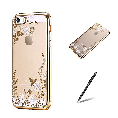 feeltech-apple-iphone-se-5-5s-etui-1-stylet-pen-dessin-de-dentelle-et-papillons-conception-et-a-la-m