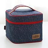 08 : Denim Lunch Bag Pouch Organizer Storage - Best Reviews Guide