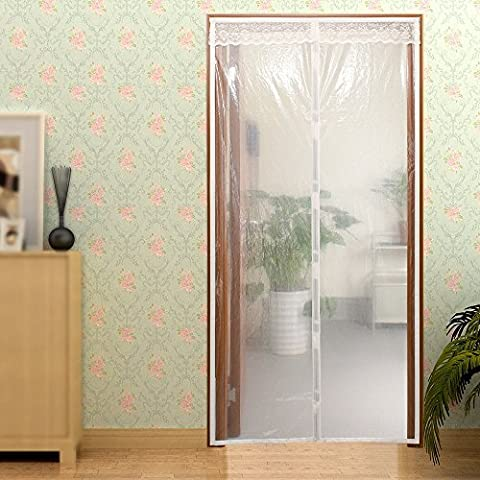Surpass Transparent Magnetic Thermal Insulated Door Curtain Enjoy Your Cool Summer And Warm Winter With Saving You Money Door Curtain Auto Closer Fits Doors Up To 34