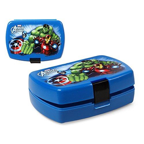 Kinder Brotdose Avengers - Lunchbox 16 x 11 cm (Lunchbox Kinder-spiel)