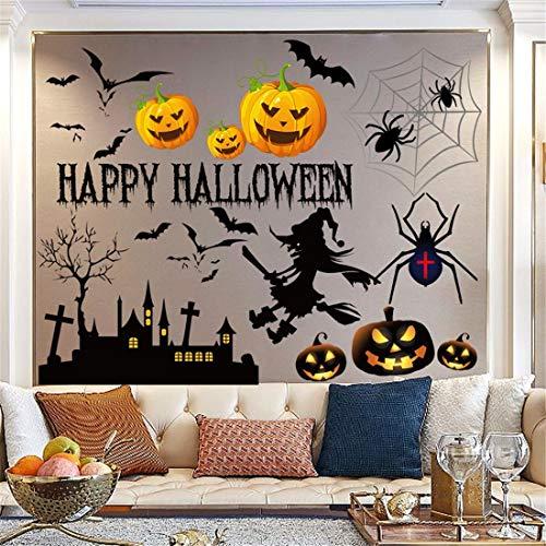 Halloween schmücken fenster display wand tapete shop prop aufkleber dekoration Ghost Festival kindergarten kreative Wandaufkleber