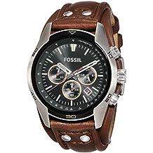 (Certified Refurbished) Fossil Coachman Analog Black Dial Men's Watch - CH2891#CR