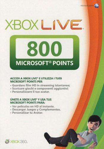 Xbox Live - Card 800 Punti