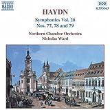 Haydn: Symphonies, Vol. 20 (Nos. 77, 78, 79)