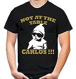 Carlos Hangover Männer und Herren T-Shirt | Spruch Kostüm Alan Geschenk (L, Schwarz)
