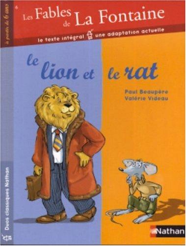 les-fables-de-la-fontaine-tome-6-le-lion-et-le-rat