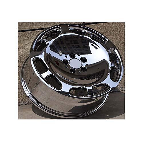 Yx-outdoor 18-Zoll-Leichtmetallfelge, reibungsbeständig, Nicht gebrochen Passend für Mercedes-Benz S600 Volkswagen Audi A4l A6l A8l Maybach (1Stk),Forging,19 * 8.5J