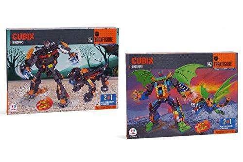 Globo Toys Globo 37072 - Juego robots ladrillos cúbicos