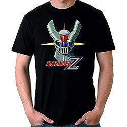 35mm - Camiseta Niño Mazinger Z Ref 2-, NEGRA, 5/6 años