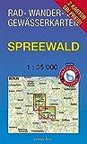 """Rad-, Wander- und Gewässerkarten-Set: Spreewald: Mit den Karten: """"Oberspreewald"""" und """"Unterspreewald"""". Maßstab 1:35.000. Wasser- und reißfeste Karten. ... und Gewässerkarten Berlin/Brandenburg)"""