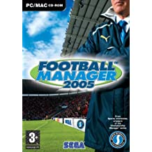 Football Manager 2005 (Mac/PC CD) [import anglais]