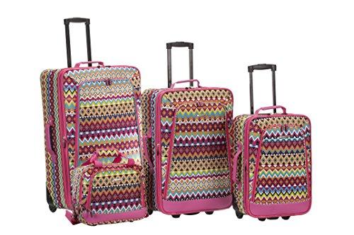 rockland-4-piece-luggage-set-tribal-tribal-one-size