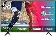 Hisense UHD TV 2020 58AE7000F - Smart TV Resolución 4K con Alexa integrada, Precision Colour, escalado UHD con