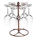 myfei Vintage Wein Glas Rack, Metall Goblet Ständer Küche Bar Cup Aufhängen Halterung
