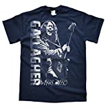 JeKAt Rory Gallagher Live Dunkelblau T-Shirt, Größe XL