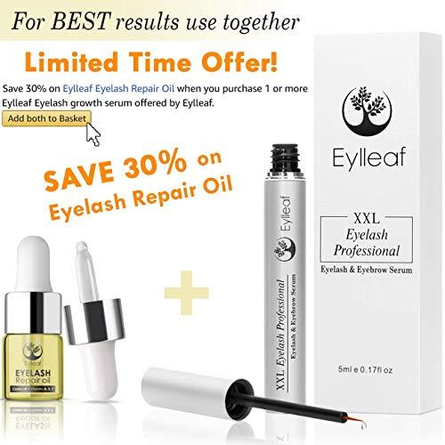 adaf128beb3 Eylleaf Eyelash Serum 6 ml, Eyebrow and Eyelash Growth Serum, Lash Booster  with