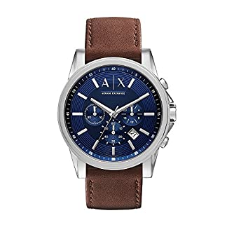 Armani Exchange Outerbanks Analog Blue Dial Men's Watch – AX2501