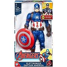 Hasbro Marvel Avengers Avengers - Captain America Personaggio Elettronico