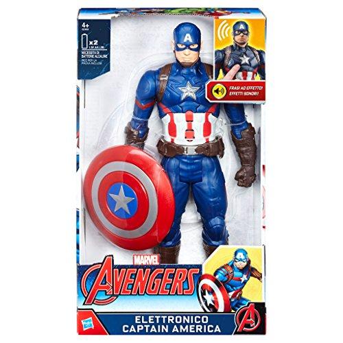 Avengers - Captain America Personaggio Elettronico