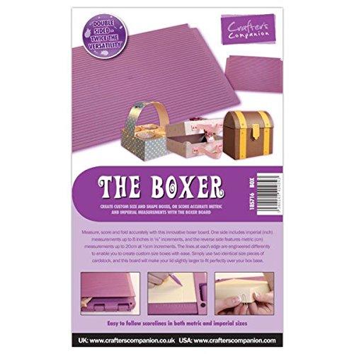 Unbekannt Crafter's Companion - Falzbrett The Boxer Board, Lila