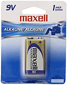 Maxell 721110 6LF22 1BP 9 Volt 1 Pack Battery