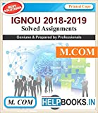 IGNOU Solved Assignments | M.COM-MCO1, MCO3, MCO4, MCO5, MCO6, MCO7 | English Medium | Printed Copy | 2018-2019 | copyrights Helpbooks.in*
