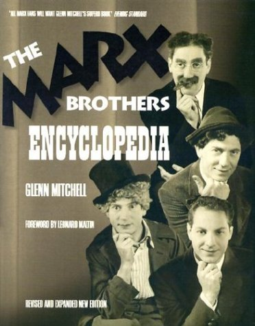 Marx Brothers Encyclopedia por Glenn Mitchell