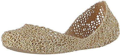 l VII, Damen Geschlossene Ballerinas, Gold (Gold Glitter 50712), 39 EU (Minnie Maus Gelb Schuhe)