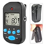 Luvay Digital Metronome - Mini Portable, Multifunctional, Clip on, Beat Tempo -