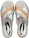 Tamaris Damen 27228 Pantoletten, Silber (Silver Comb), 40 EU
