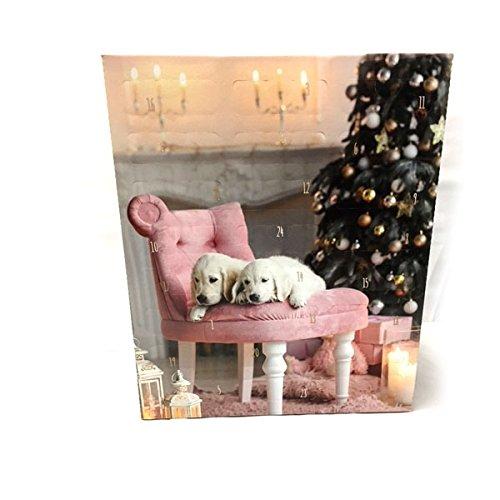 Weihnachtskalender Adventskalender für den Liebsten Hund mit tollen Leckerlies