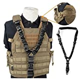 Best Airsoft Rifles - Adjustable Single Point Rifle Sling Tactical Bungee Airsoft Review